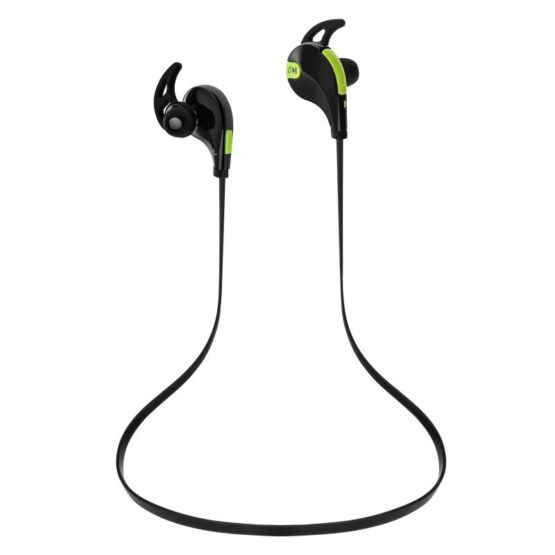 A set of Bluetooth Earphones - Yellow and Black