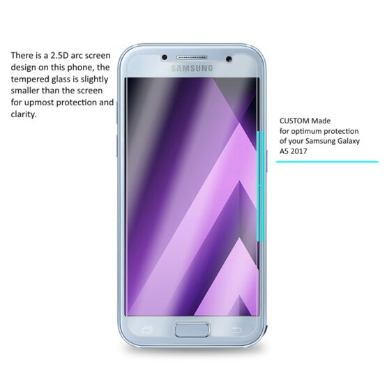 Tempered Glass for Galaxy A5 2017