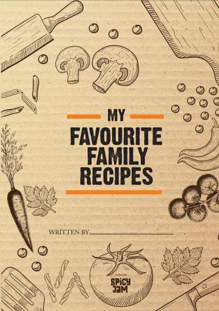 My Favourite Recipes Book