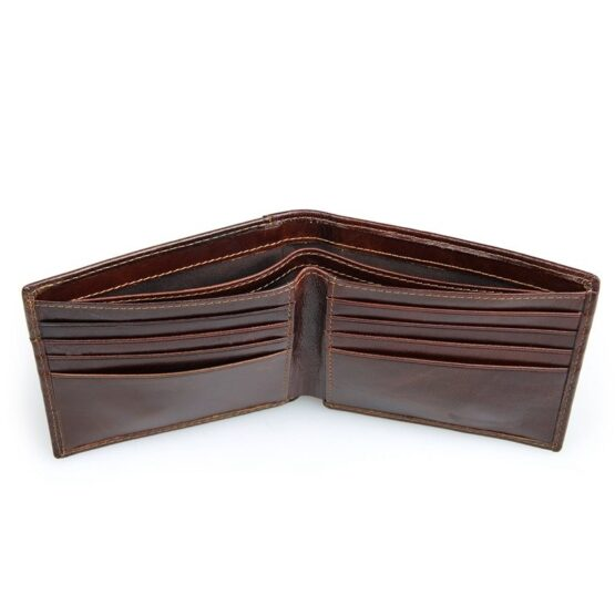 Mens Leather Wallet - RFID Blocked
