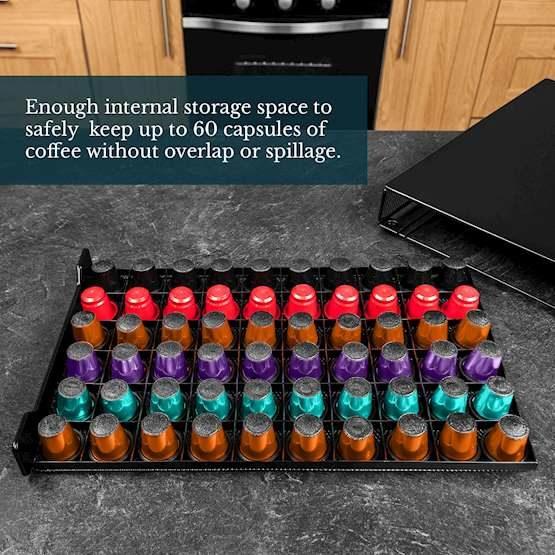 Capsules Storage for Nespresso Pods