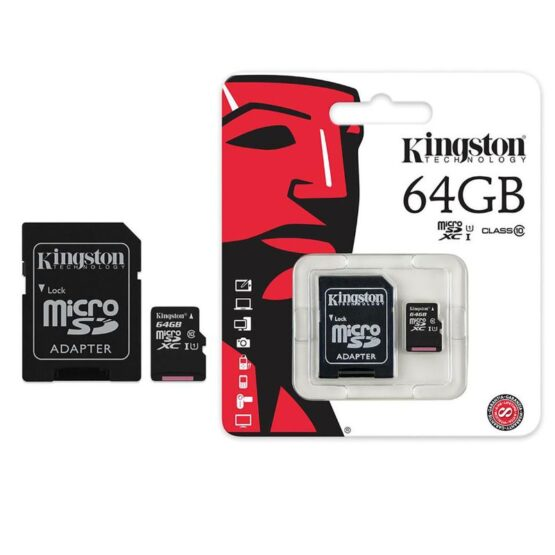 Kingston Micro SD Card - Class 10 in Package