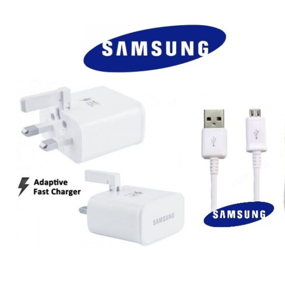Official Samsung Galaxy S6 Charger PLug and Micro USB Cable