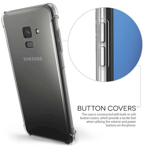 Clear Samsung Galaxy A8 (2018) Case