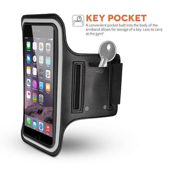 Place for Key in Running Phone Case iPhone