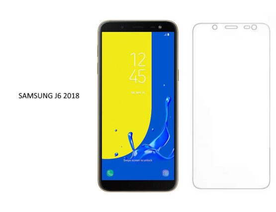 Phone Samsung Galaxy J6 with Screen Protector