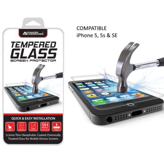 Tempered Glass Screen Protector iPhone SE
