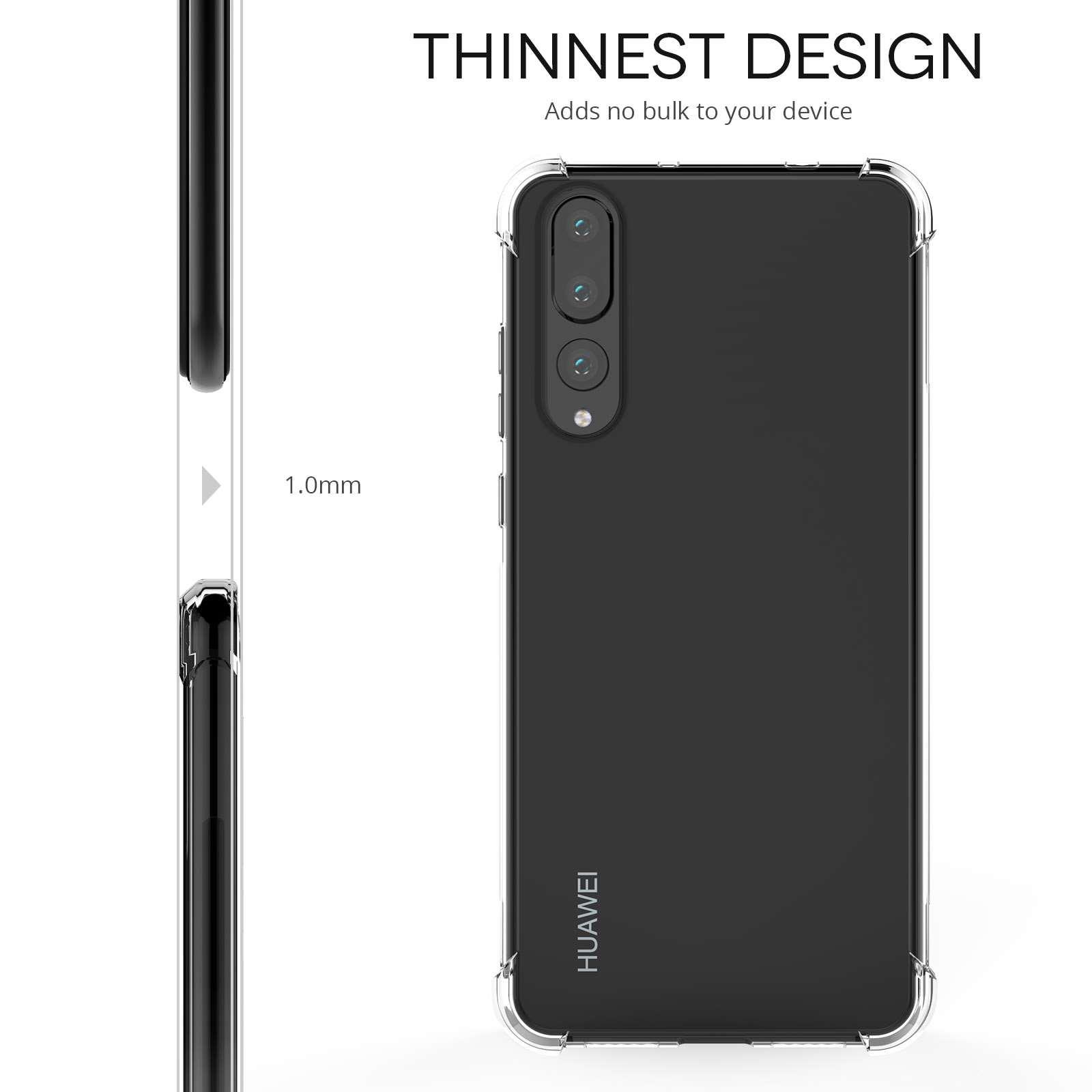 pretty nice d12d7 e48ba Slim Clear Huawei P20 Pro Case - TPU
