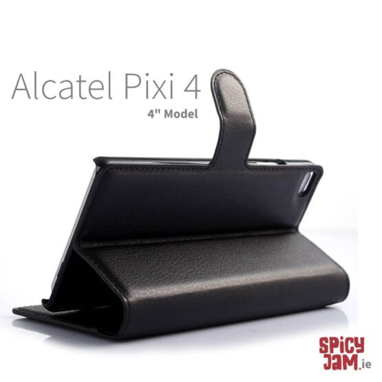 Picture of Alcatel phone case pixi 4 using stand.