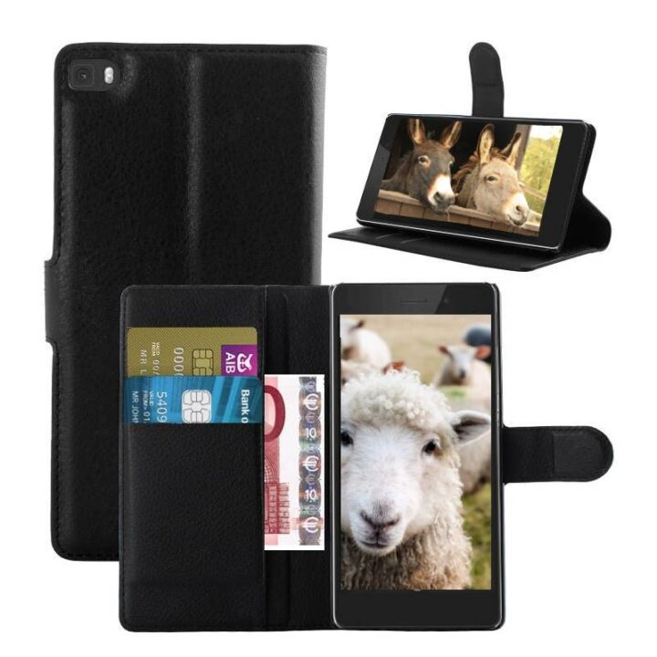 Picture of 3 phones with place for cards. Sheep and donkeys in pictures.