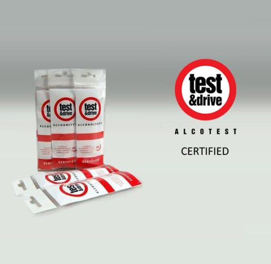 Disposal Alcohol breath tests in packages