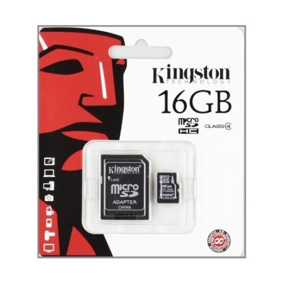 Kingston Micro SD card with SD Adapter