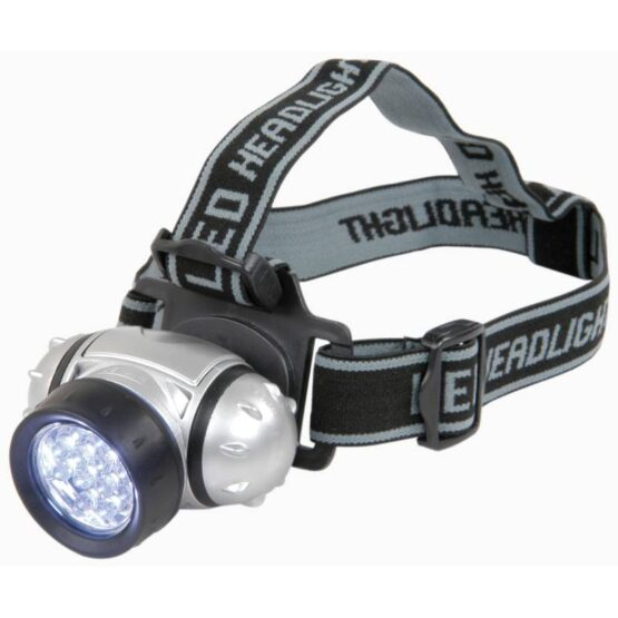 LEd head torch with black straps