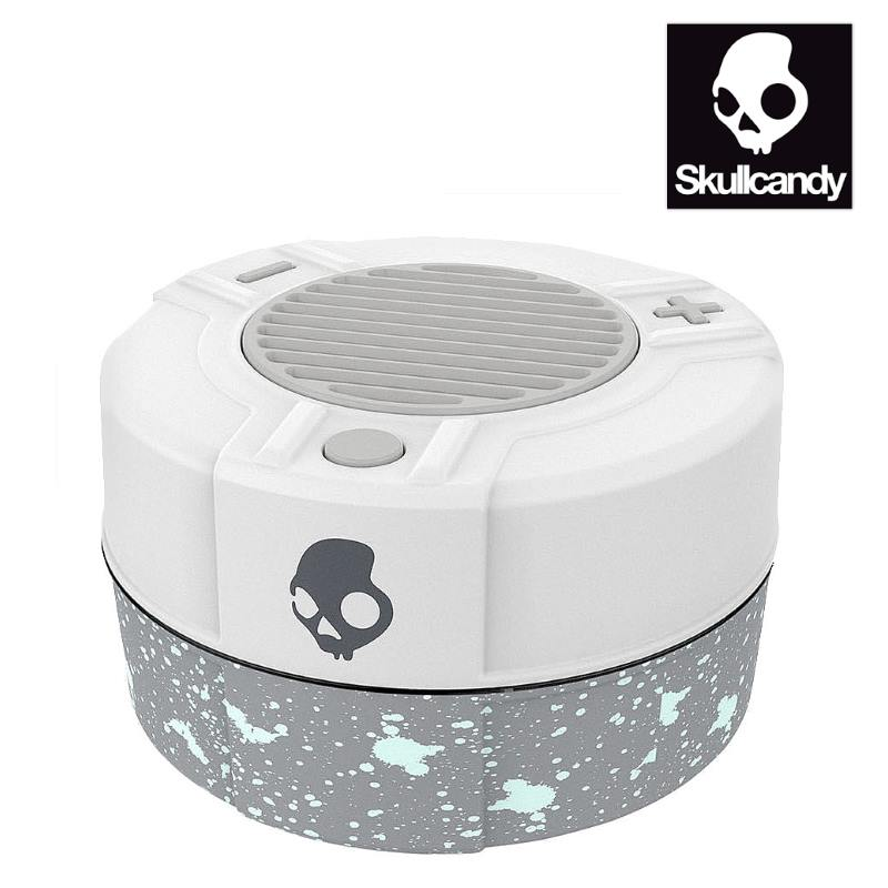 SkullCandy Bluetooth Speaker White and Grey