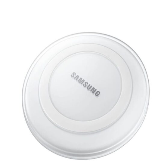 White Samsung Wireless Charger Pad