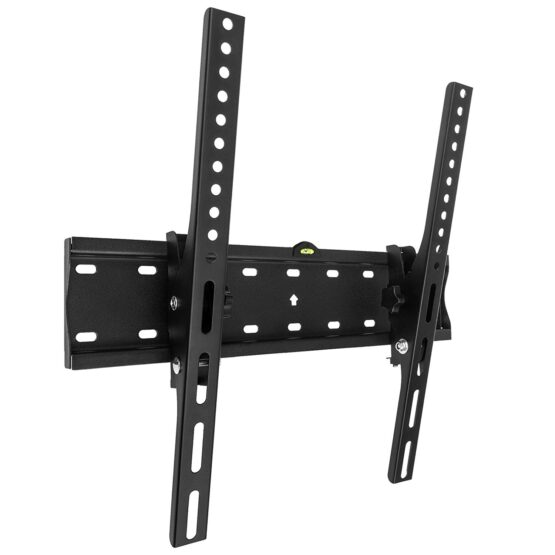 Black Wall Mount for Flat Screen TVs.