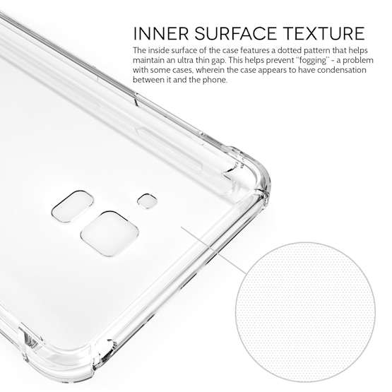 Clear A6 2018 Samsung Galaxy Phone Case