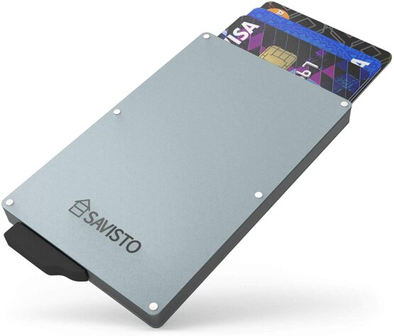 Card Holder with Credit Cards