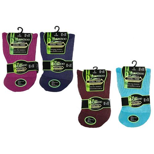 Wide Leg Socks 4 Colors Paris