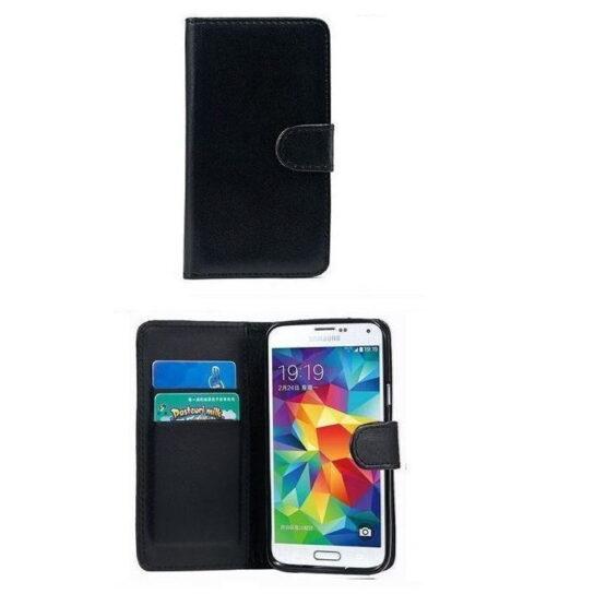 Black S10e Phone case open and closed