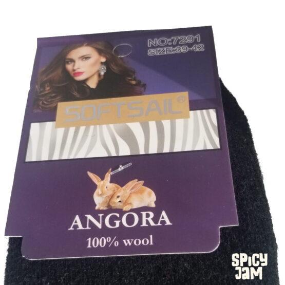 Angora Rabbit Logo on Socks
