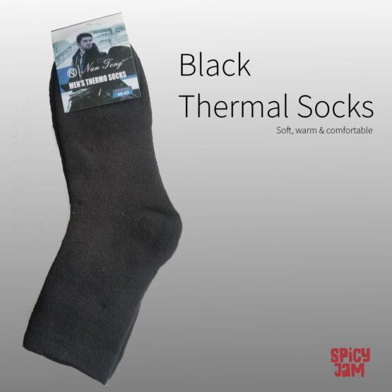 Black Thermal Socks