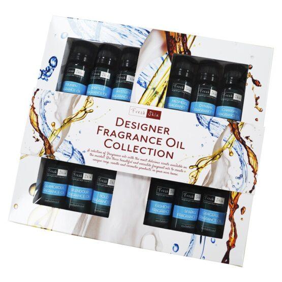 12 Fragrance Oil Bottles in Box