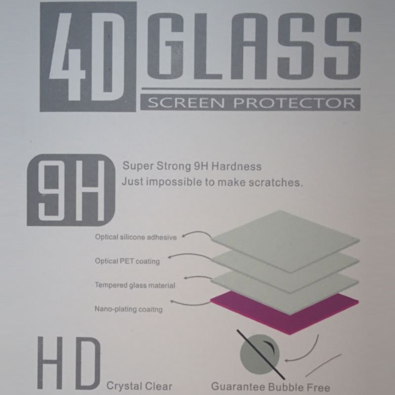 f9129dff9ce Samsung Galaxy S7 Screen Protector · Packaging of 4D Curved Glass Samsung 7  EDGE