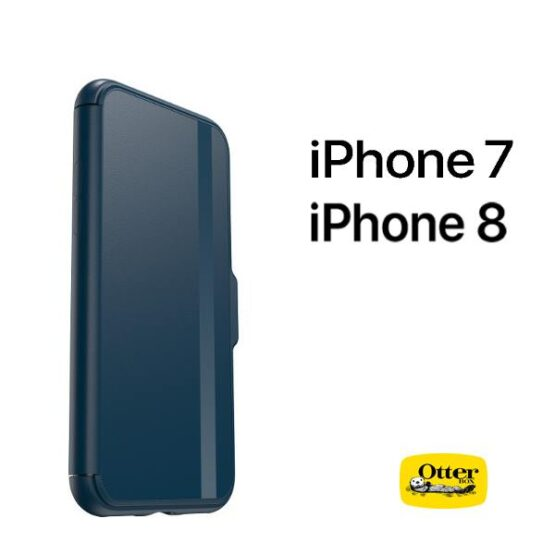 Otterbox case side profile for iPhone with Otterbox logo