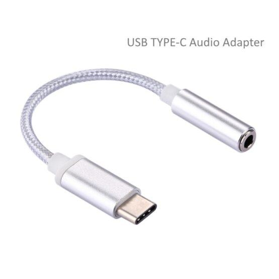 A USB Type-C a.k.a. USB-C Audio Adapter Jack