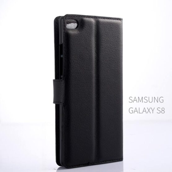 Back view black Samsung S8 Case