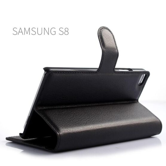 Black S8 Case with Stand