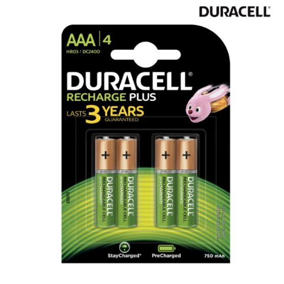 Pack of 4 AA Batteries in a Pack
