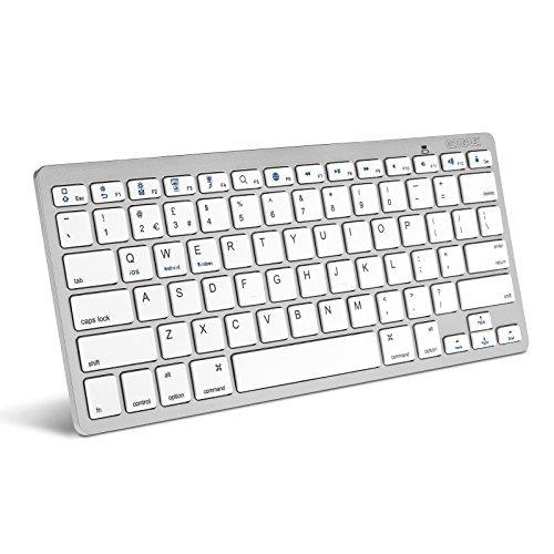 Silver Bluetooth Keyboard