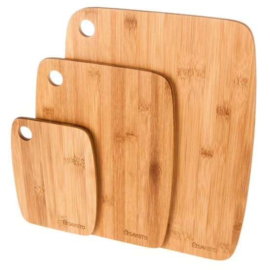 Three Chopping Boards made from Bamboo